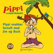 Pippi snakker fornuft med Jim og Buck