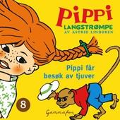 Pippi får besøk av tjuver