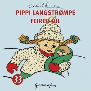 Pippi Langstrømpe feirer jul (lydbok) av Astr