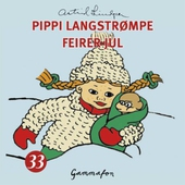 Pippi Langstrømpe feirer jul