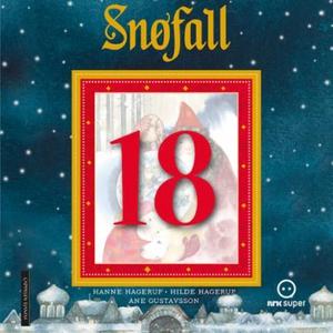 Snøfall 18. desember (lydbok) av Hanne Hageru