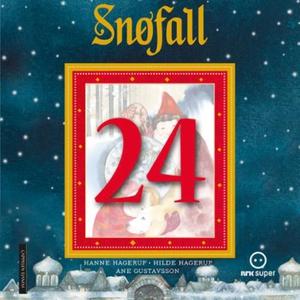 Snøfall 24. desember (lydbok) av Hanne Hageru