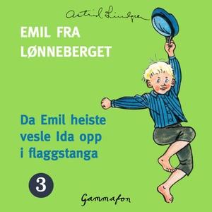 Da Emil heiste vesle Ida opp i flaggstanga (l