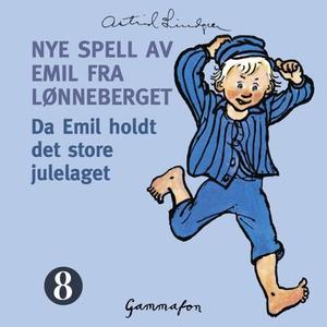 Da Emil holdt det store julelaget (lydbok) av