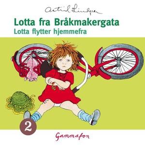 Lotta flytter hjemmefra (lydbok) av Astrid Li