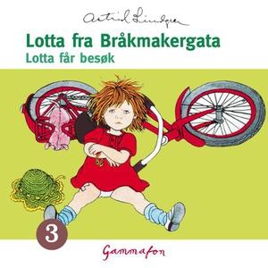 Lotta får besøk (lydbok) av Astrid Lindgren