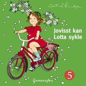 Jo visst kan Lotta sykle (lydbok) av Astrid L