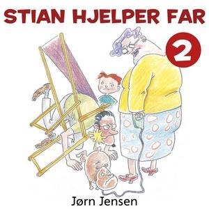 Stian hjelper far (lydbok) av Jørn Jensen