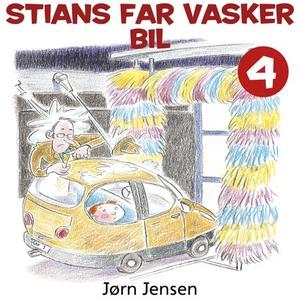 Stians far vasker bil (lydbok) av Jørn Jensen