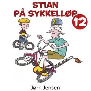 Stian på sykkelløp (lydbok) av Jørn Jensen