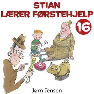 Stian lærer førstehjelp (lydbok) av Jørn Jens