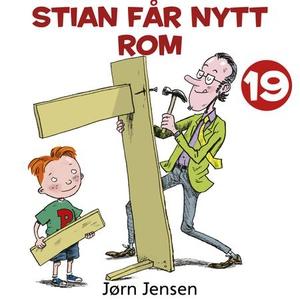 Stian får nytt rom (lydbok) av Jørn Jensen