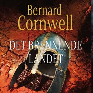 Det brennende landet (lydbok) av Bernard Corn
