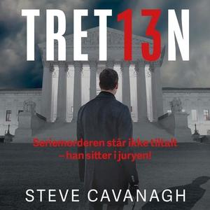 Tretten (lydbok) av Steve Cavanagh