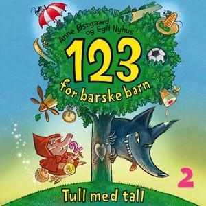 123 for barske barn (lydbok) av Anne Østgaard