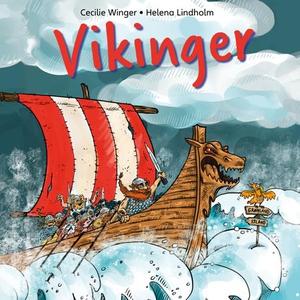 Vikinger på 1-2-3 (lydbok) av Cecilie Winger