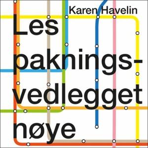 Les pakningsvedlegget nøye (lydbok) av Karen