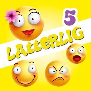Latterlig 5 (lydbok) av