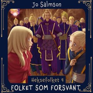 Folket som forsvant (lydbok) av Jo Salmson