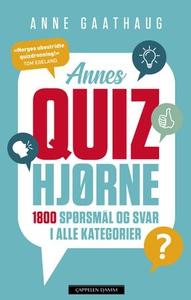 Annes quizhjørne (ebok) av Anne Gaathaug