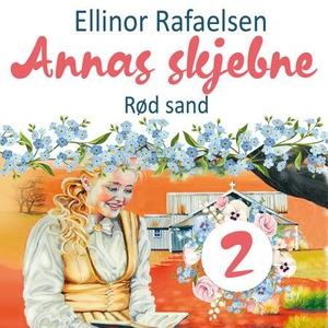 Rød sand (lydbok) av Ellinor Rafaelsen