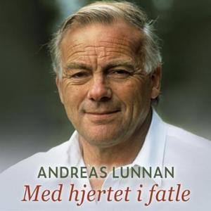 Med hjertet i fatle (lydbok) av Andreas Lunna