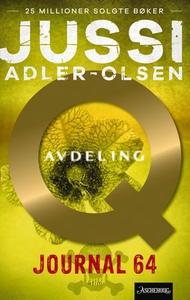 Journal 64 (ebok) av Jussi Adler-Olsen