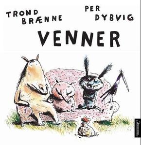 Venner (interaktiv bok) av Trond Brænne