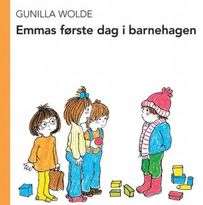 Emmas første dag i barnehagen (interaktiv bok