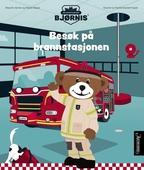 Brannbamsen Bjørnis. Besøk på brannstasjonen