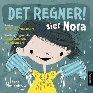 Det regner! sier Nora (lydbok) av Irene Marie