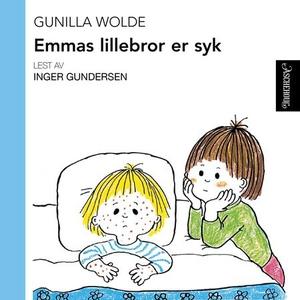 Emmas lillebror er syk (lydbok) av Gunilla Wo