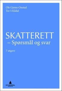 Skatterett (ebok) av Ole Gjems-Onstad, Tor S.