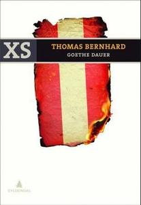 Goethe dauer (ebok) av Thomas Bernhard