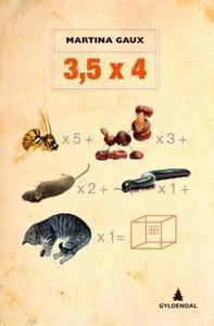3,5 x 4 (ebok) av Martina Gaux