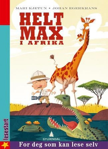 Helt Max i Afrika (interaktiv bok) av Mari Kj