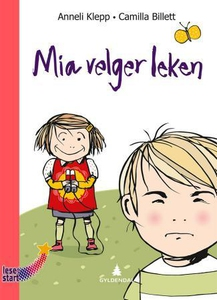 Mia velger leken (interaktiv bok) av Anneli K
