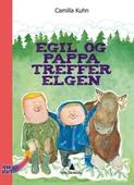 Egil og pappa treffer elgen