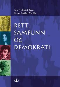 Rett, samfunn og demokrati (ebok) av Jan Frid
