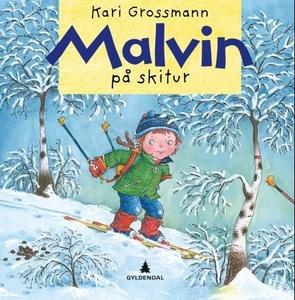 Malvin på skitur (interaktiv bok) av Kari Gro
