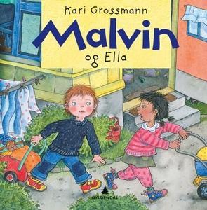 Malvin og Ella (interaktiv bok) av Kari Gross