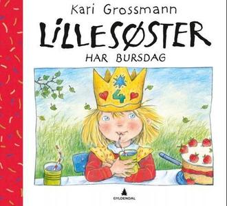 Lillesøster har bursdag (interaktiv bok) av K