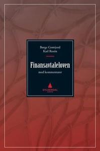 Finansavtaleloven (ebok) av Børge Grøttjord,