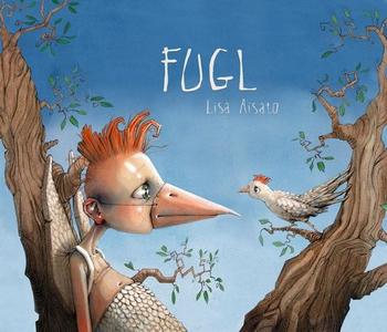 Fugl (interaktiv bok) av Lisa Aisato