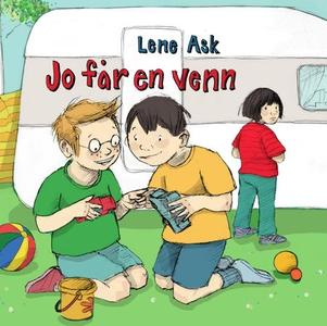 Jo får en venn (interaktiv bok) av Lene Ask