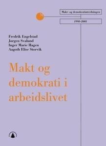 Makt og demokrati i arbeidslivet (ebok) av Fr
