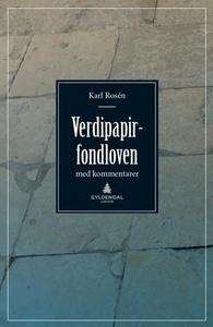 Verdipapirfondloven (ebok) av Karl Rosén