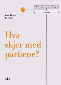 Hva skjer med partiene? (ebok) av Knut Heidar