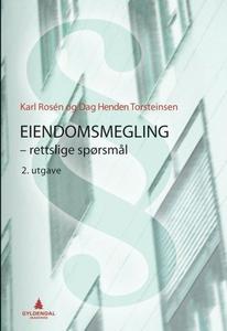 Eiendomsmegling (ebok) av Karl Rosén, Dag Hen