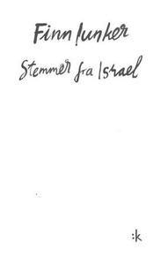 Stemmer fra Israel (ebok) av Finn Iunker